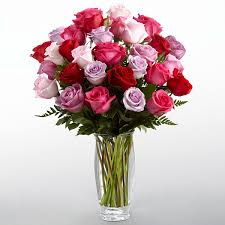 roses bouquet the ftd captivating color bouquet by vera wang vase included