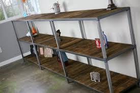Reclaimed Wood Bookshelf Combine 9 Industrial Furniture U2013 Reclaimed Wood Bookcase