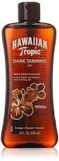 Tanning Oil With Spf Hawaiian Tropic Dark Tanning Sun Care Moisturizing Oil 8 Ounce