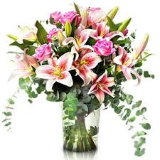 sending flowers internationally subtle freshness roses and lilies gifts send