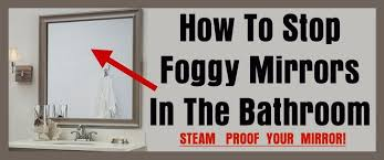 How To Keep Bathroom Mirrors Fog Free Removeandreplace Com Diy Projects Tips Tricks Ideas Repair
