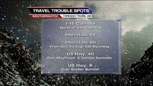 Utah Road Conditions Map by Road Conditions Check How Winter Storm Is Affecting Utah Roads