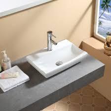 compact cloakroom bathroom countertop ceramic basin sink 6 stylish