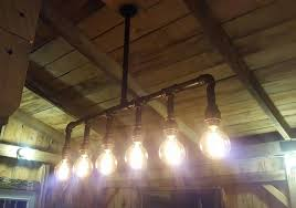 Farmhouse Ceiling Lights by Industrial Lighting Rustic Kitchen Island Ceiling Light