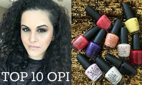 Hair Colors For Olive Skin Top 10 Opi Nail Polishes Medium Skin Tone Swatches Nc35