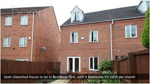 semi detached house to let in bestwood park with 4 bedrooms youtube