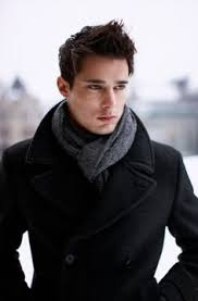 32 masculine ways to wear a scarf for men ideas hq