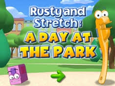 rusty stretch park handy manny games