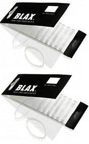 blax hair elastics blax clear snag free hair elastics 12ct 2mm beauty
