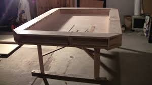 gaming desk plans gaming table nearly complete youtube