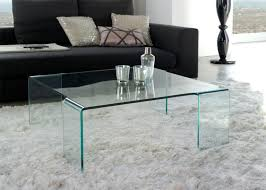 Glass Table For Living Room Inspiring Modern Glass Coffee Table As Fancy Furniture Styles