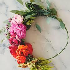 flower crowns flower crown martha stewart weddings