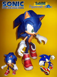 Sonic The Hedgehog Papercraft - sabi96 papercraft box sonic adventure 2 special pt 1 sonic the