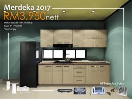 Complete Kitchen Cabinet Packages Kitchen Cabinet Promotion Merdeka 2017 Kitchen Cabinet Jt Design