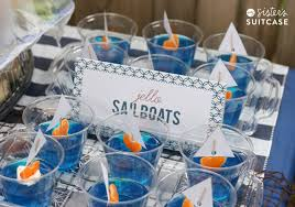baby shower anchor theme nautical theme baby shower ideas my s suitcase