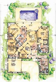law suites florida house plan with wonderful casita 42834mj