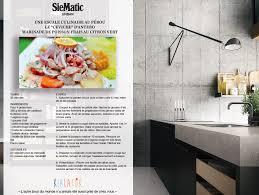 le gingembre en cuisine ceviche d antero kialatok recette de cuisine siematic gastronome