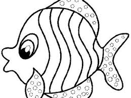 rainbow fish template coloring home fish coloring pages powered