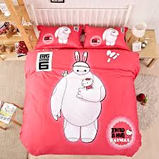 Bed Linen For Girls - lovely pink baymax comforter baymax bed sheets modern bedding for