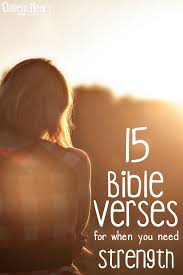 15 bible verses strength
