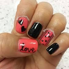best 25 valentine u0027s day nail designs ideas on pinterest