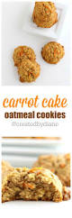 carrot cake oatmeal cookies created by diane