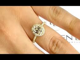 1 carat halo engagement ring 1 carat oval halo engagement ring