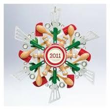 2011 snowflake hallmark ornament porcelain rhinestones