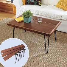 Creative Coffee Tables Furnitures Decorative Diy Hairpin Legs Coffee Table Near White