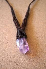 necklace with purple stone images Raw amethyst necklace purple stone purple gemstone february jpg