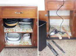 Kitchen Cabinet Trash Convert A Cabinet Into A Pull Out Trash Bin U2013 A Beautiful Mess