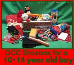 simply shoeboxes operation christmas child shoebox for 10 14 year