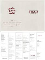 kanela menu june 2017 bacon salad