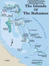 bahamas on map map of the bahamas island chain from bahamas on line