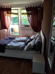 Schlafzimmer 11 Qm Einrichten Ein Sehr Schönes Und Gemütliches Schlafzimmer Die Dunkle