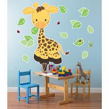 Jungle Wall Decals Giraffe Giant Wall Decals Birthdayexpress Com