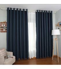 Chocolate Brown And Blue Curtains Blue Curtains Living Room Living Room