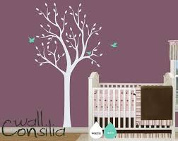 Purple Wall Decals For Nursery Baby Nursery Tree Wall Decal Wall Sticker Tree Wall Decal Tree