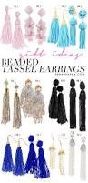 25 best beaded tassel earrings ideas on pinterest fringe