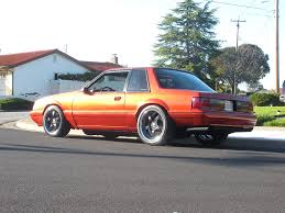 1989 fox body w 5 lug conversion 87 93 mustangs pinterest