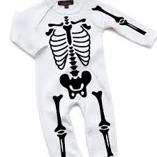 halloween skeleton images halloween skeleton babygrow by nappy head notonthehighstreet com
