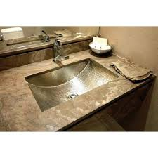 hammered nickel bathroom sink glamorous 50 nickel undermount bathroom sink inspiration of 19 best
