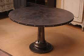 industrial tables for sale industrial round dining table divinodessert com