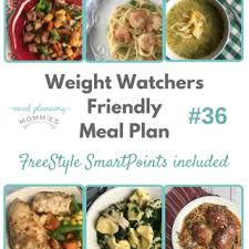 cuisine ww weight watcher meal plans with smart points archives