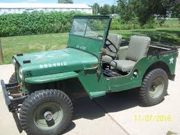 willys jeep 1948 willys jeep cj2a the h a m b