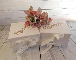 wedding gift boxes wedding gift box etsy