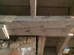 basement support beam splitting home improvement stack exchange