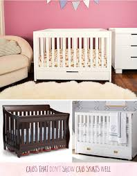 Pottery Barn Ruffle Crib Skirt Crib Skirts Choosing The Right One For Your Crib U2013 Caden Lane