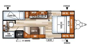 forest river 5th wheel floor plans new 2017 forest river salem cruise lite 201bhxl 6070