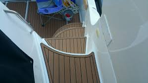 Vinyl Pontoon Boat Flooring by On The Water Solutions Marine Canvas Upholstery And Boat Audio